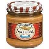 スマッカーズ ナチュラルピーナッツバター クリーミー 340g