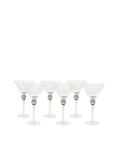 Vanderpump Set of 6 Monaco Martini Glasses
