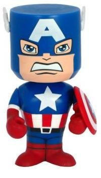 Buy Low Price Funko Bobble Head Figure (Nodniks) – Marvel – Captain America (B003EE67IS)