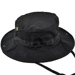 Boonie Hat-Black-Large