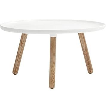 Normann Copenhagen Tablo Coffee Table by Nicholai Wiig Hansen Warm Grey