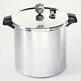 Quality 23 Qt Aluminum Pressure Canner By Presto by Pressure Canners