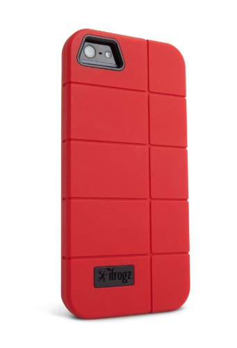 Best Price iFrogz IP5CN-RED Cocoon Case for iPhone 5 - 1 Pack - Retail Packaging - Red/Black
