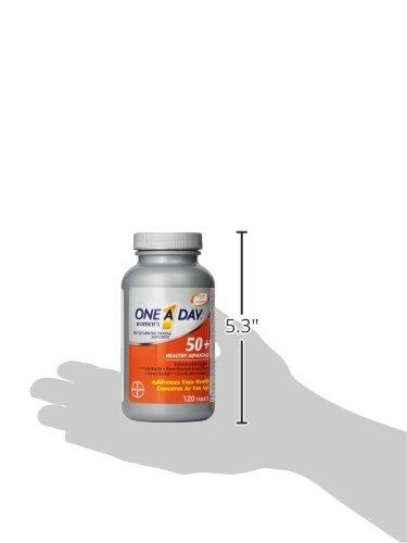 德国Bayer One A Day 50岁以上 每日一粒女士维生素 120片图片