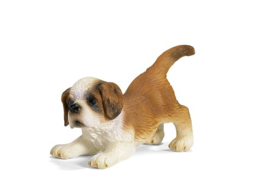 Buy Low Price Schleich St. Bernard Puppy Figure (B000JKA1K0)