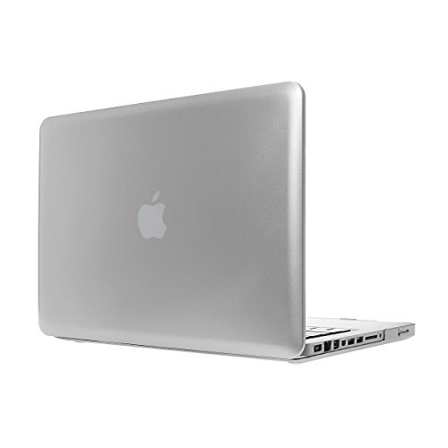 "Hm-Ant Model: A1286 Macbook Pro 15 Inch Smooth Rainbow Rubberized Hard Case Cover Bag For Apple Macbook Pro 15.4"" (Silver)"