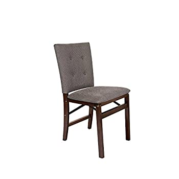 Stakmore Parson's Folding Chair Finish, Set of 2, Espresso