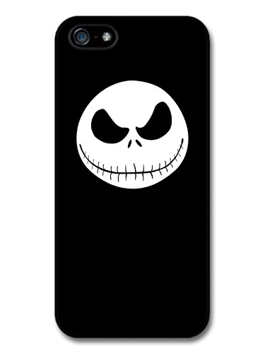 The Nightmare Before Christmas Halloween Tim Burton Jack Skellington custodia per iPhone 5 5S