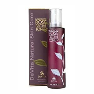 Devita Skin Care - Moroccan Rose Facial Toner 5 oz - Devita Cleansers & Toners from Devita Natural Skin Care