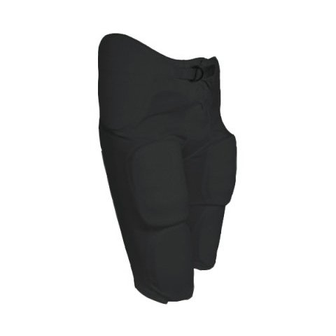 TAG Adult Integrated Football Pant Large (Black) Waist (33-35in) (Mens Football Pants With Pads compare prices)