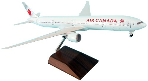 Daron Skymarks Air Canada B777-300Er Model Kit with Gear and Wood (1/200 Scale) (Air Canada Model compare prices)