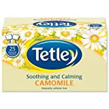 Brand New. Tetley Tea Bags Camomile Smile Individually Wrapped Ref A06677 [Pack 25]