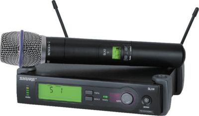 Shure Slx24/Beta87A Wireless Microphone System