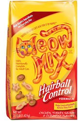 See Meow Mix Hairball Control Formula Dry Cat Food (3.15-lb bag)