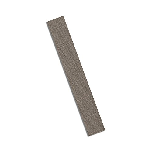 "Tapecase 3M Cn3490 0.5"" X 5""-250 Gray Non-Woven Conductive Fabric Tape, 5"" Length, 0.5"" Width, Rectangles (Pack Of 250)"