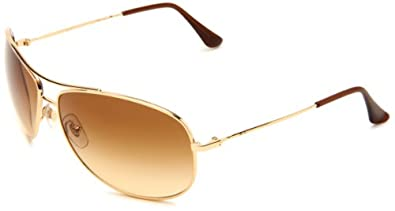 Ray Ban Rb3293 Gold Frame/Light Brown Gradient Lens Metal