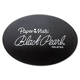 12 Pack Black Pearl Eraser, 2/Pack by PAPERMATE (Catalog Category: Paper, Pens & Desk Supplies / Erasers)