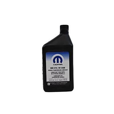 Amazon.com: Genuine Mopar Fluid 4874464 Manual Transmission Lubricant