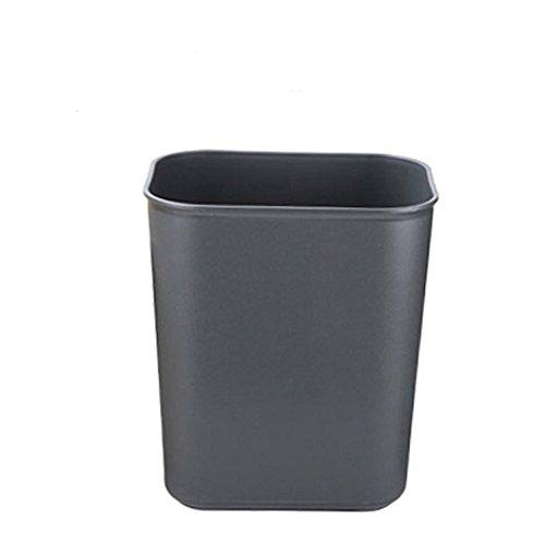 crazy-shop-plastic-deskside-trash-can-rectangular-wastebasket-14l-37-gallon-grey