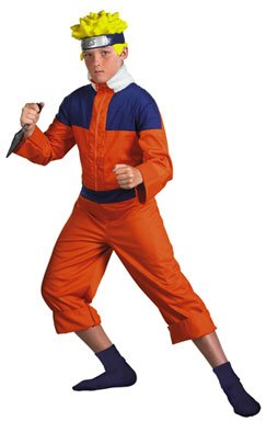Naruto Deluxe Child Teen Halloween Costume