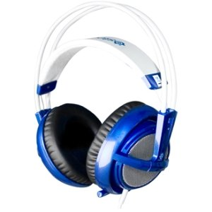 Steelseries Siberia V2 Headset. Siberia V2 Pc Gaming Headset Blue Headst. Stereo - Blue - Mini-Phone - Wired - 32 Ohm - 18 Hz-28 Khz - Over-The-Head - Binaural Snr - Ear-Cup - 9.84 Ft Cable - Noise Reduction Microphone