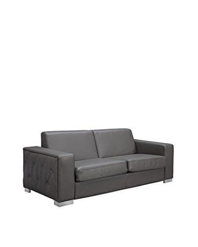 Whiteline Alfa Sofa Bed, Grey
