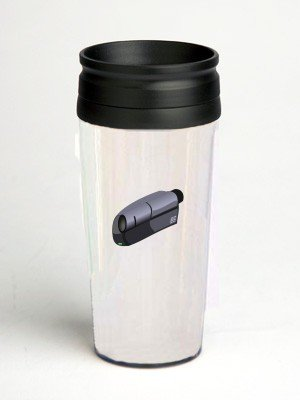 16 oz. Double Wall Insulated Tumbler with camcorder - Paper Insert