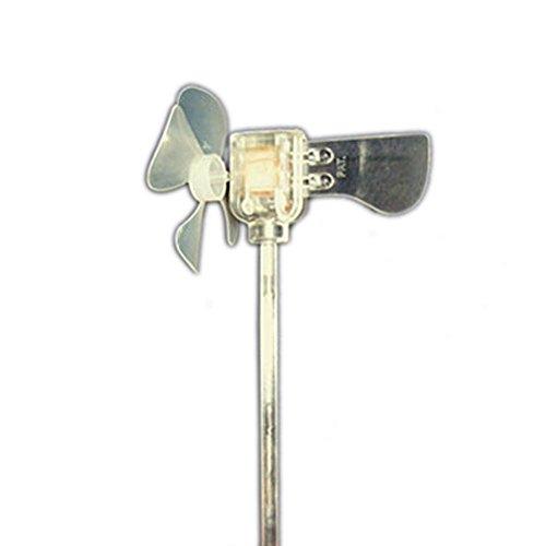 Blow Light LED Mini Turbine Small Wind Powered Garden Light