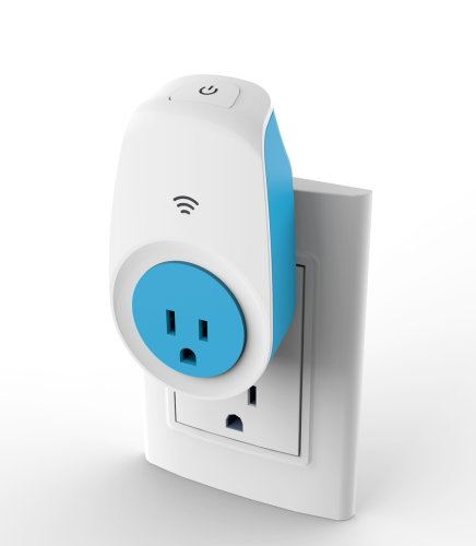 Ankuoo NEO Wi-Fi Smart Switch with Home Automation App for iPhone and Android Smartphones, Blue/White
