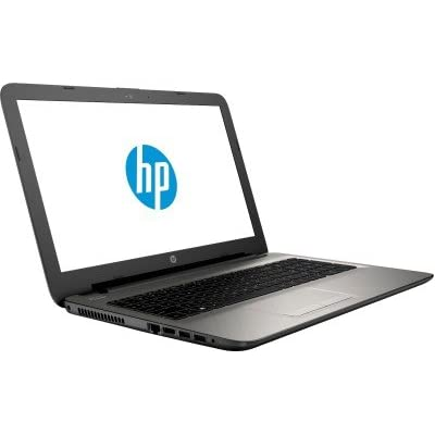 HP 15-AF006AX 15.6-inch Laptop (AMD A8-7410/4GB/500GB/2GB Graphics/DOS), Turbo Silver