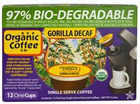 The Organic Coffee Co., Decaf Gorilla Coffee,