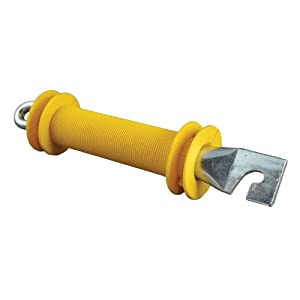 Zareba YHDRGH10 Heavy-Duty Rubber Gate Handle, Yellow (Discontinued by Manufacturer)