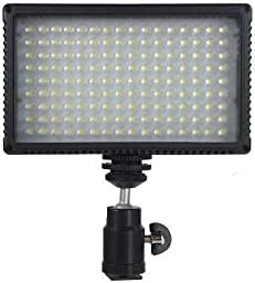 Alzo 792 Color Temperature Adjusting Led Video Light Kit with Battery & Charger, 72 Daylight Leds And 72 Warm White Leds