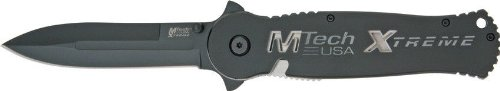 Mtech Usa Xtreme Mx-8021Bk Tactical Folding Knife 5.5-Inch Closed