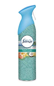 Febreze Désodorisant Spray Plaisir d'air Parfum Paradis des Caraïbes 300 ml
