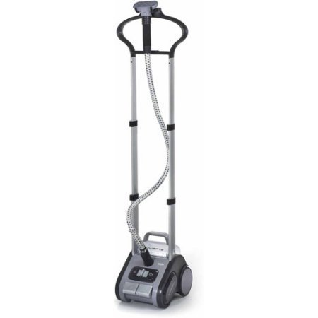 Refurbished Rowenta Precision Valet Commercial Full-Size Garment Steamer with Retractable Cord and Variable Steam, Grey/Purple (Oyster Electric Steamer compare prices)