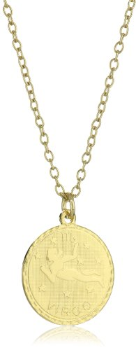 Privileged NYC Zodiac Virgo Coin Necklace