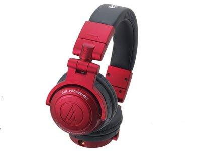 audio-technica DJヘッドホン(着脱コードタイプ) レッド ATH-PRO500MK2 RD