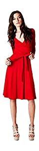 Material: Spandex /Viscose  Dress Silhouette: Shift   Embellishments: Wrap   Size Category: Adult