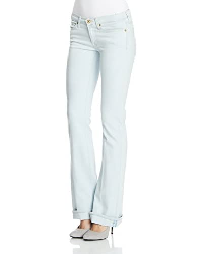 7 For All Mankind Vaquero Bleac Bleac