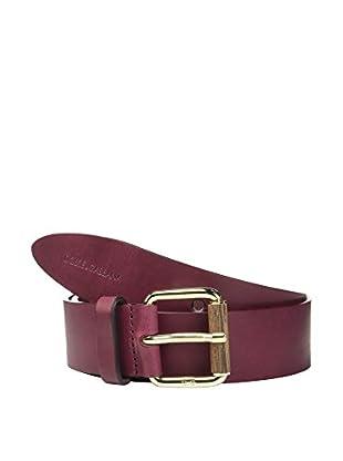 Dolce & Gabbana Cinturón Piel (Burdeos)