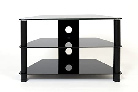 Buying Guide of  Demagio DM021-BG-BL- Glass and  Column Stand for LCD and Plasma TV