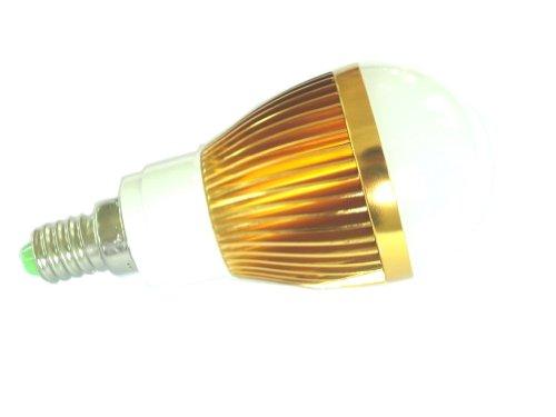 Lenbo Dimmable 110V 600Lm High Power Warm White E14 10W Chip Led Globe Light Lamp Bulb 60W Halogen Equivalent Lb3 120 Degree Beam Angle Golden Case