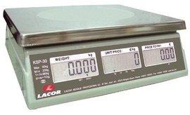 Lacor 61730 elektronischeküchenwaage avec rechtecking k