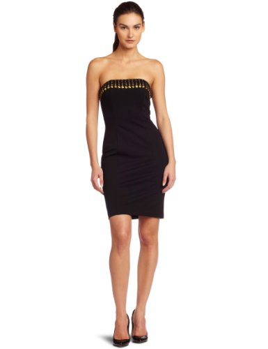 Trina Turk Women's Marnie Dress, Black, 2