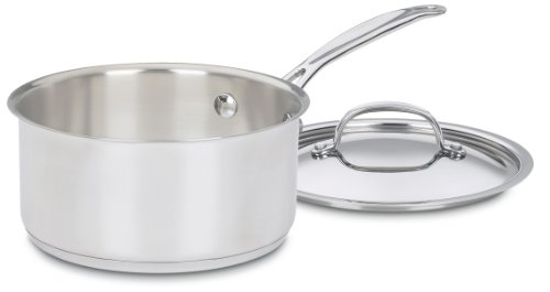 Cuisinart 719-18 Chef's Classic Stainless 2-Quart Saucepan with Cover (Chef Cuisinart compare prices)