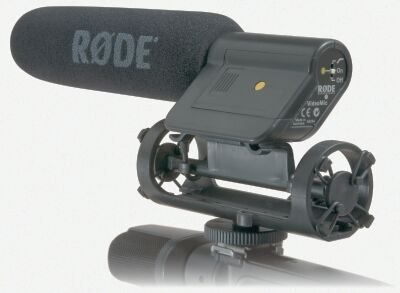 Condenser Microphone Rode Videomic For Video Camera