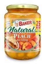 Baker Select Solo Bkrs Pie Flng Peach 26 oz (Pack Of 6)
