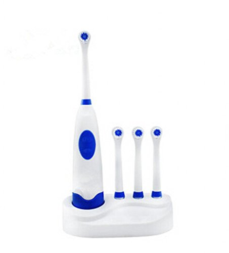 Children Professional Deep Sweep Easy Clean Electric Toothbrush Two Aa Batteries