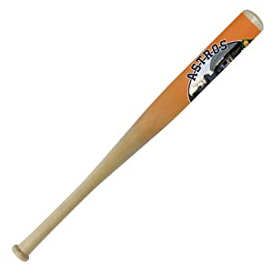 MLB Houston Astros 34-Inch Hardwood Minute Maid Park Photo Bat with Wall Mount by Coopersburg